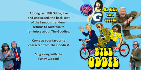 Bill Oddie tour poster - web wide