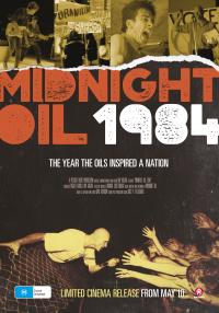 Midnight Oil 1984 - Key Art