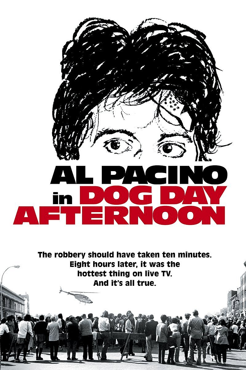 film analysis dog day afternoon Dog day afternoon was released in 1975 the real life events of the film took place in 1972 it is primarily a film about the death of the 1960s movement, with themes that touch upon the political anti-establishment, or disenfranchised vietnam veterans.